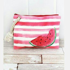 Handbags - New Watermelon Large Wristlet!